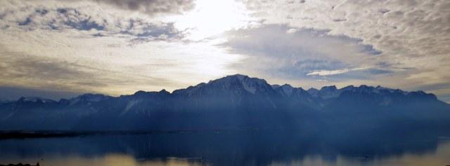 Lac Léman, kutsutakse ka Genfi järveks. Üks suurimaid järvi Lääne- Euroopas